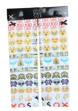 Emoji Knee High Odd Sox