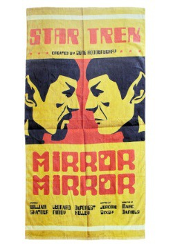 Star Trek Mirror Spock Beach Towel