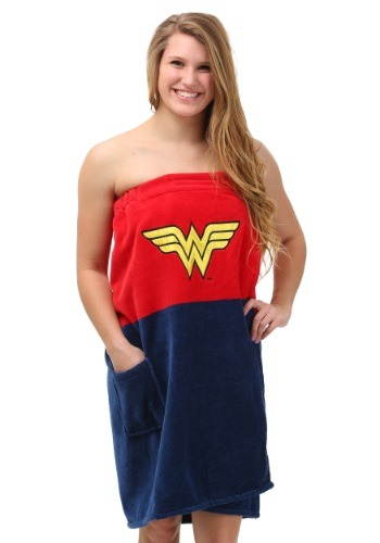 Wonder Woman Bath Wrap