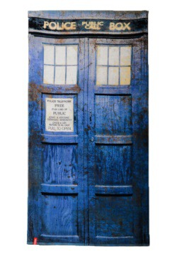 Doctor Who TARDIS Distressed Towel