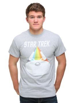 Star Trek Enterprise Face On Men's T-Shirt