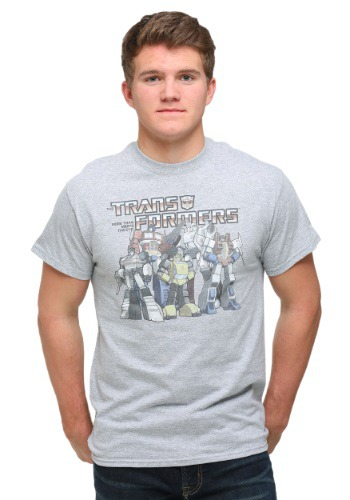 Transformers Classic Group Men's T-Shirt