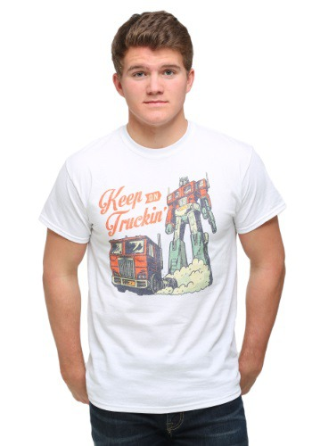 Transformers Classic Keep On Truckin' Men's T-Shirt