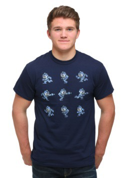 Mega Man Poses Men's T-Shirt