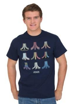 Atari Logo Color Options Men's T-Shirt