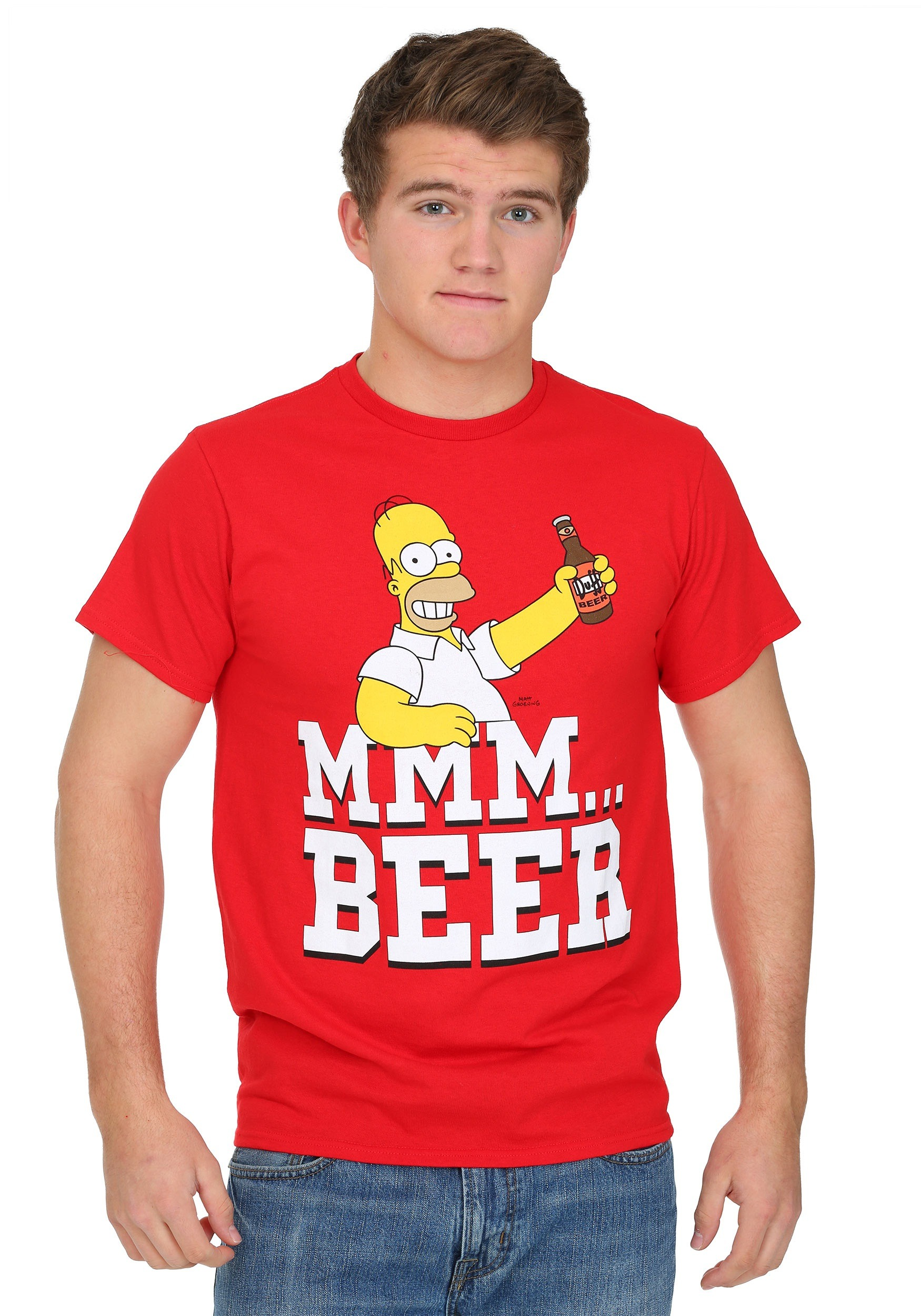 c32ad09e3 Simpsons Beer Me Mens T-Shirt