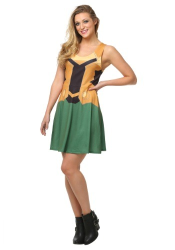 Marvel Loki A-Line Tank Dress