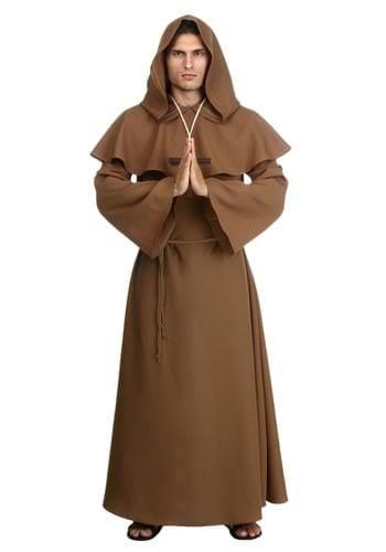 Mens Brown Monk Robe