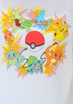 Pokemon Blasts Juniors Ringer Tee1