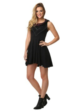Star Wars Sith Cowl Sleeveless Dress