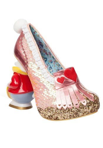 Alice In Wonderland White Rabbit Womens White Rabbit Heel
