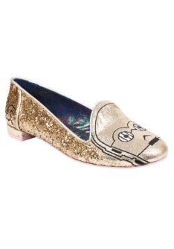 Star Wars C3PO The Golden Robot Womens Flat