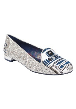 Star Wars R2D2 Sparkle Womens Flat