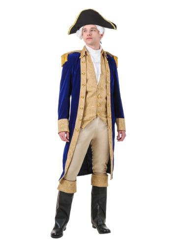 George Washington Plus Size Costume