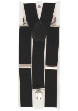 Men's Black Suspenders