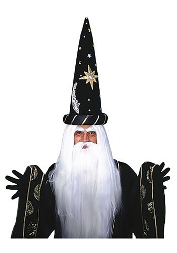 Wizard Wig and Beard Set