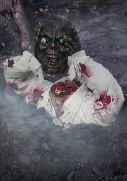 Self-Decapitating Zombie Decor