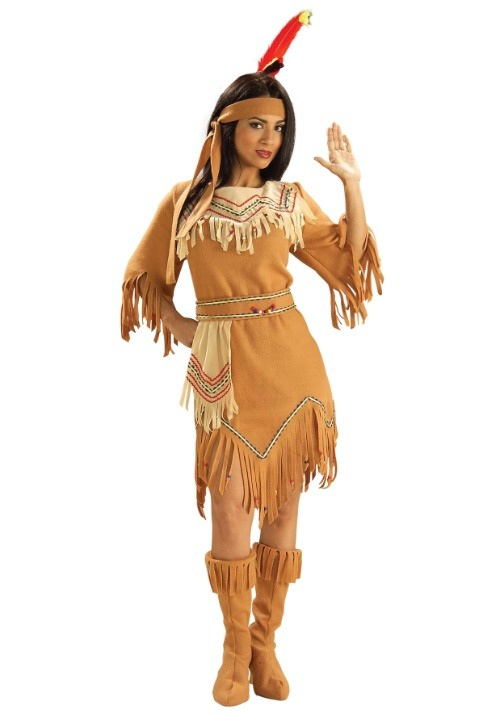 Plains Indian Maiden Costume
