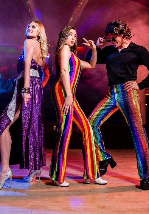 Women's 70's Disco Jumpsuit 3