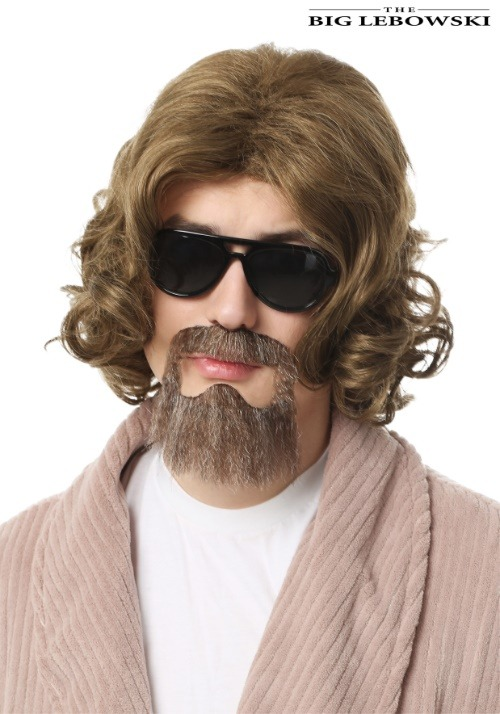 Adult Big Lebowski Adult The Dude Wig and Beard Kit