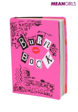 Burn Book Stretchy Mean Girls Book Cover