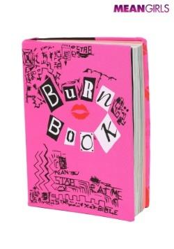 Burn Book Stretchy Mean Girls Book Cover