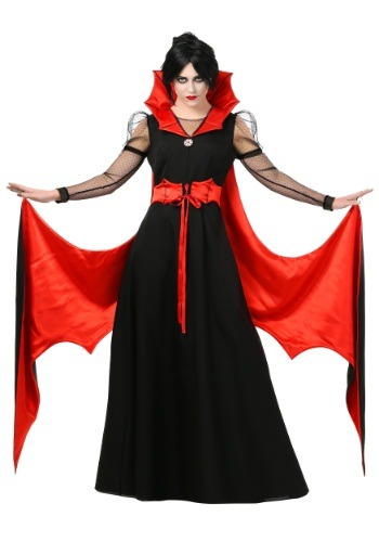 Batty Vampire Plus Size Costume For Women