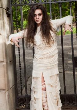 Full Length Mummy Women's Plus Size Costume2