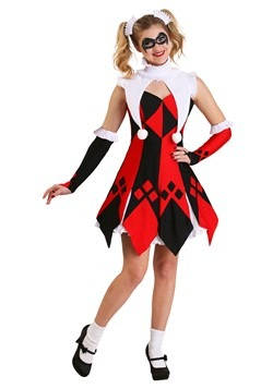 Womens Cute Court Jester Costume