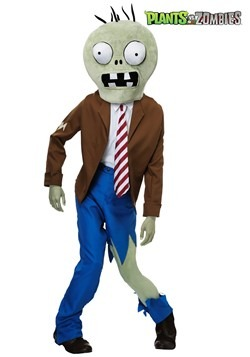 Adults PLANTS VS ZOMBIES Zombie Costume