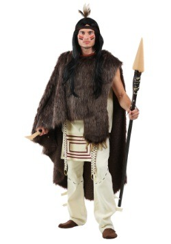 Deluxe Native Warrior Men's Costume