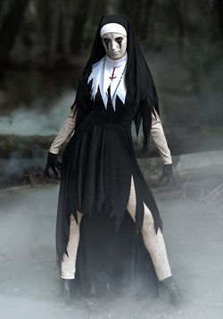 Plus Size Women's Dreadful Nun Costume