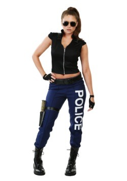 Tactical Police Women's Costume