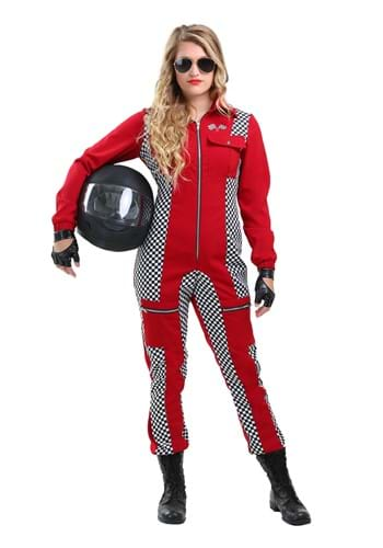 Racer Jumpsuit Women's Costume