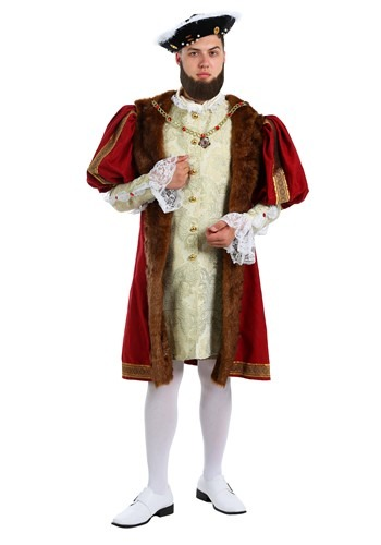 King Henry Men's Costume