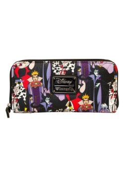 Disney Villians Zip Around Wallet