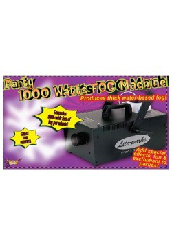 Scary 1000 Watt Fog Machine