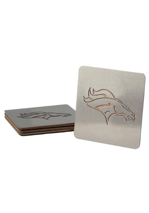 Denver Broncos Boasters 4 Pack Coaster Set