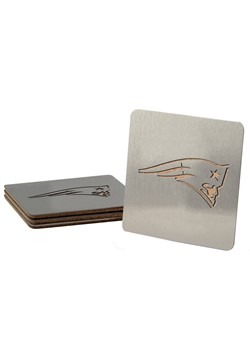 New England Patriots Boasters 4 Pack Coaster Set