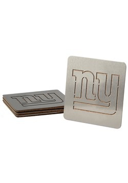 New York Giants Boasters 4 Pack Coaster Set