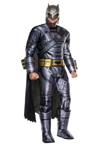 Deluxe Armored Batman Dawn of Justice Men's Costume