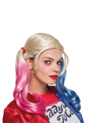 Suicide Squad Adult Harley Quinn Wig