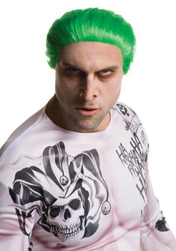 Adult Suicide Squad Joker Wig