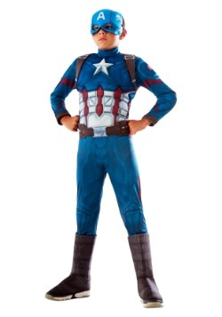 Boys Captain America Civil War Deluxe Costume