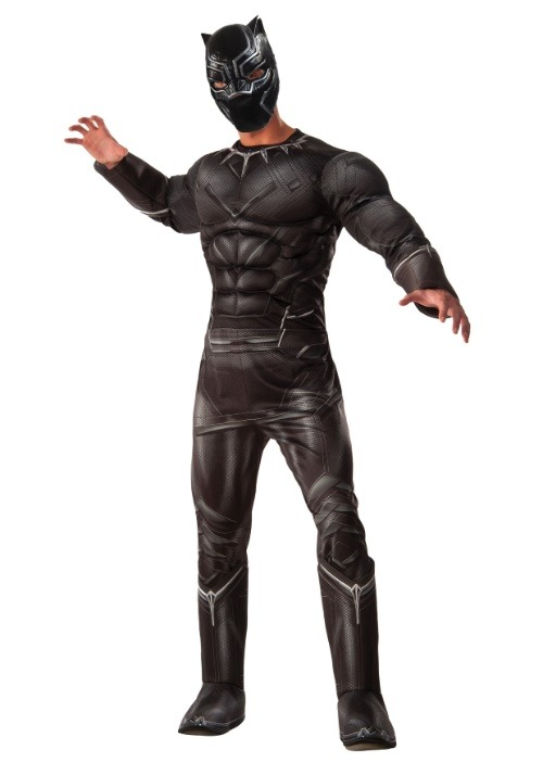 Deluxe Black Panther Civil War Mens Costume