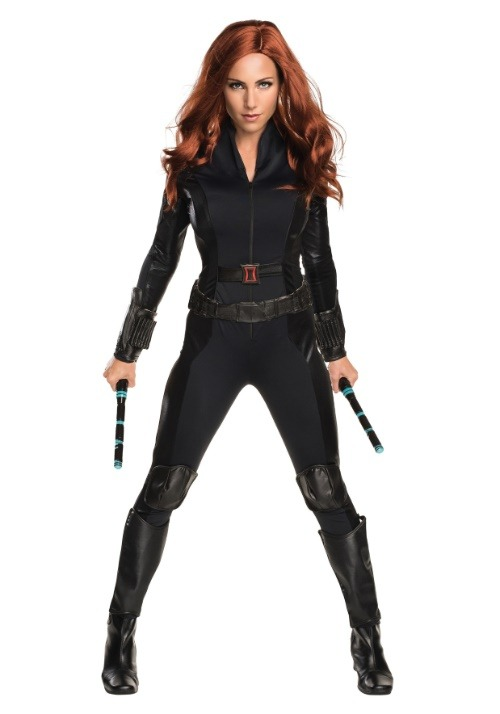 Deluxe Black Widow Civil War Womens Costume