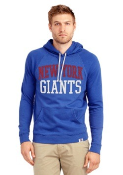 New York Giants Half Time Mens Hoodie