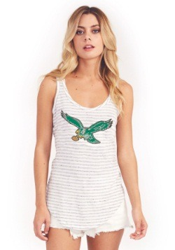 Philadelphia Eagles Time Out Tank Womens