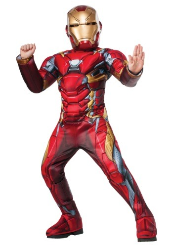 Boys Elite Iron Man Civil War Costume