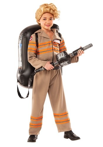 Girls Deluxe Ghostbuster's Movie Costume